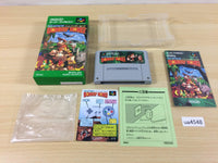 ua4548 Super Donkey Kong Country BOXED SNES Super Famicom Japan