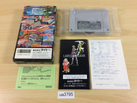 ua3795 Lady Stalker Kako kara no Chousen BOXED SNES Super Famicom Japan