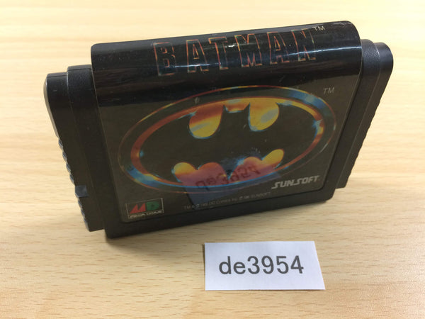 de3954 Batman Mega Drive Genesis Japan