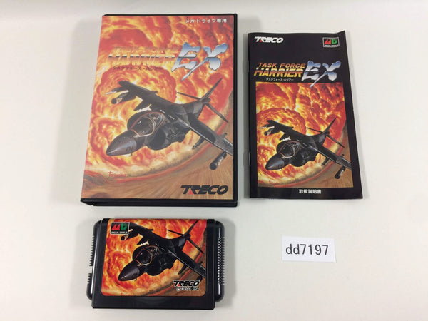 dd7197 Task Force Harrier EX BOXED Mega Drive Genesis Japan