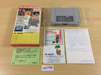 ua3798 Super Genjin Bonk's Adventure BOXED SNES Super Famicom Japan