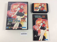 dd8560 Battle Golfer Yui BOXED Mega Drive Genesis Japan