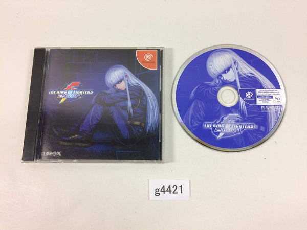 g4421 The King of Fighters 2001 Dreamcast Japan