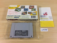 ua4398 Kid Klown in Crazy Chase BOXED SNES Super Famicom Japan