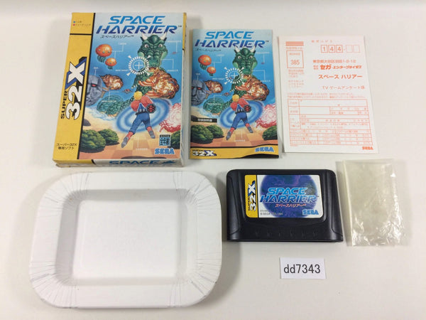 dd7343 Space Harrier SUPER 32X BOXED Mega Drive Genesis Japan