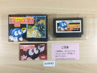 dc6445 Egger Land Meikyuu no Adventures of Lolo BOXED NES Famicom Japan