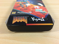 ua2500 Doom BOXED SNES Super Famicom Japan