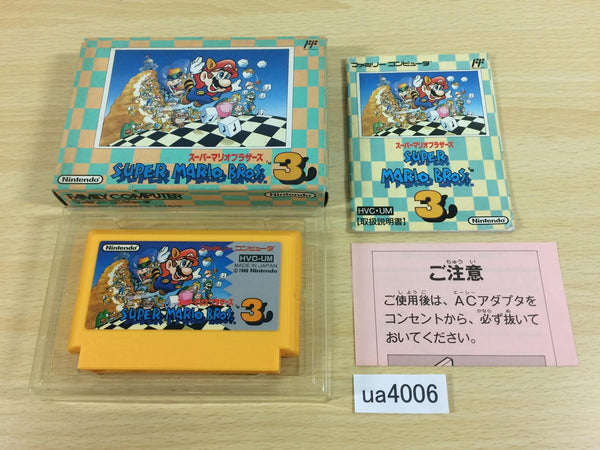 ua4006 Super Mario Bros. 3 BOXED NES Famicom Japan