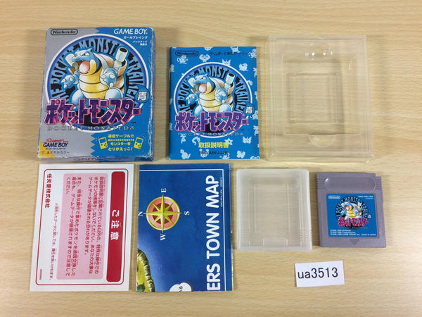 ua3513 Pokemon Blue BOXED GameBoy Game Boy Japan