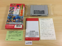 ua3240 Ganbare Goemon 3 BOXED SNES Super Famicom Japan