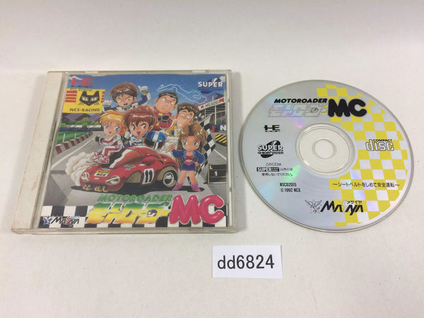 dd6824 Motoroader MC SUPER CD ROM 2 PC Engine Japan