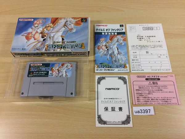 ua3397 Tales of Phantasia BOXED SNES Super Famicom Japan