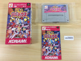 ua3685 Gokujou Parodius Fantastic Journey BOXED SNES Super Famicom Japan