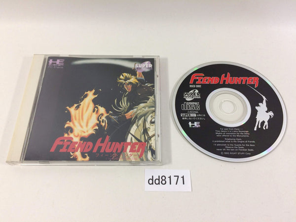 dd8171 Fiend Hunter SUPER CD ROM 2 PC Engine Japan