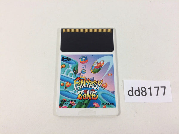 dd8177 Fantasy Zone PC Engine Japan