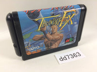 dd7363 Thunder Fox Mega Drive Genesis Japan