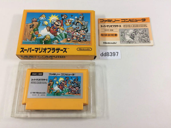 dd8397 Super Mario Bros. BOXED NES Famicom Japan