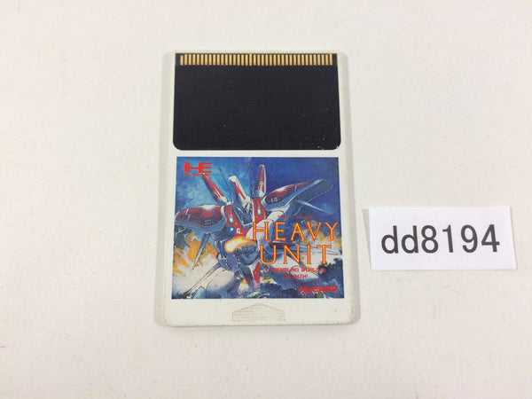 dd8194 Heavy Unit PC Engine Japan