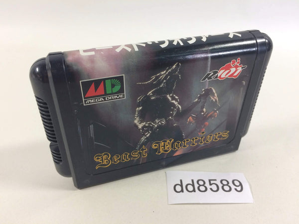 dd8589 Beast Warriors Mega Drive Genesis Japan