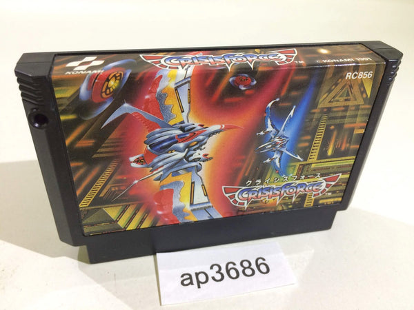 ap3686 Crisis Force NES Famicom Japan