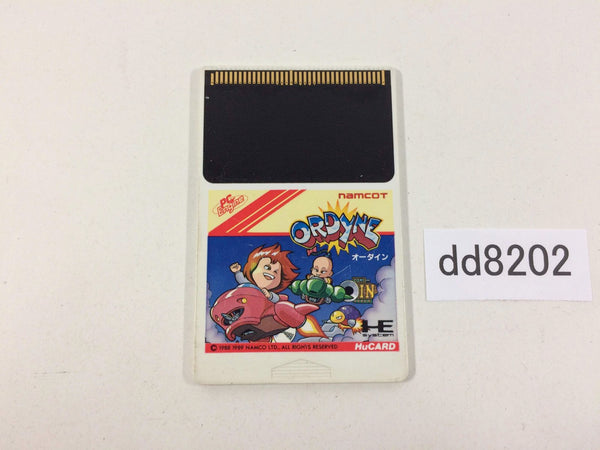 dd8202 Ordyne PC Engine Japan