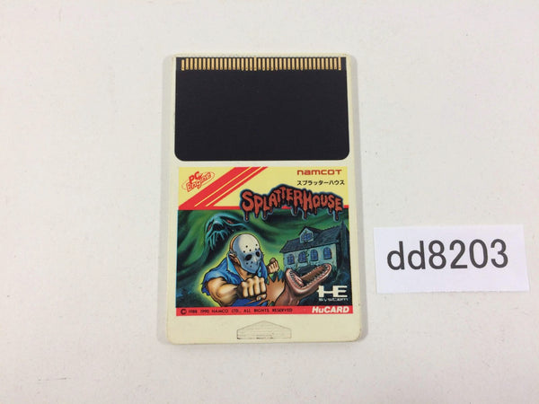 dd8203 Splatterhouse PC Engine Japan