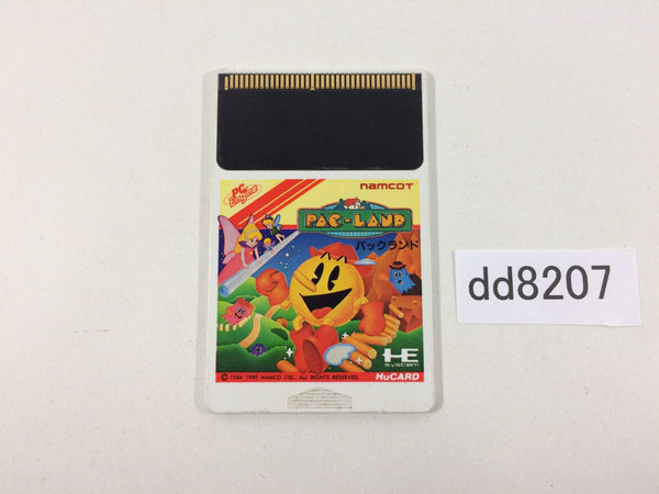 dd8207 Pac-Land PC Engine Japan