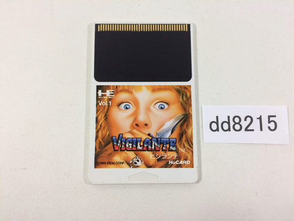 dd8215 Vigilante PC Engine Japan