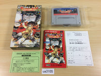 ua3105 Metal Max Returns BOXED SNES Super Famicom Japan