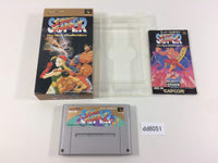 dd8051 Super Street Fighter II 2 BOXED SNES Super Famicom Japan
