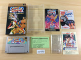 wa1052 Super Street Fighter II 2 BOXED SNES Super Famicom Japan