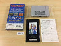 ua4574 Magna Braban Henreki no Yusha BOXED SNES Super Famicom Japan