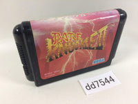 dd7544 Bare Knuckle II Shitou e no Shinkonka Mega Drive Genesis Japan