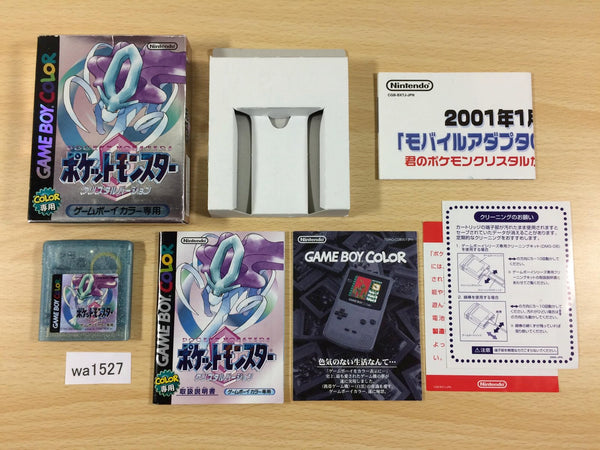 wa1527 Pokemon Crystal BOXED GameBoy Game Boy Japan
