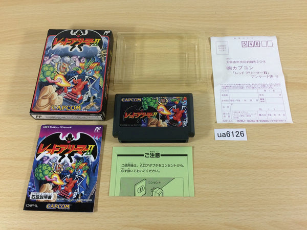 ua6126 Gargoyle's Quest II 2 The Demon Darkness BOXED NES Famicom Japan
