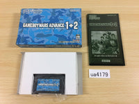 ua4179 Game Boy Wars Advance 1+2 BOXED GameBoy Advance Japan