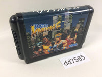 dd7565 Bare Knuckle Ikari no Tekken Mega Drive Genesis Japan
