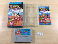 de3244 Mickey & Minnie Magical Adventure 2 BOXED SNES Super Famicom Japan