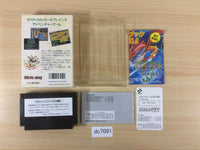 dc7091 Metal Gear BOXED NES Famicom Japan