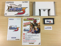 ua3546 Ace Attorney Phoenix Wright 3 BOXED GameBoy Advance Japan