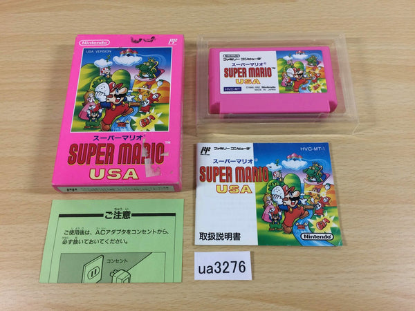 ua3276 Super Mario USA BOXED NES Famicom Japan