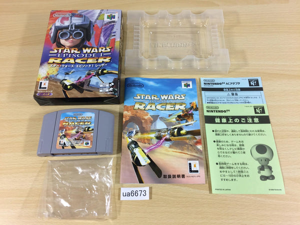 ua6673 Star Wars Episode 1 Racer BOXED N64 Nintendo 64 Japan