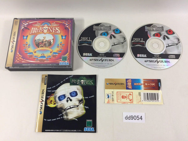 dd9054 Mr. Bones Sega Saturn Japan