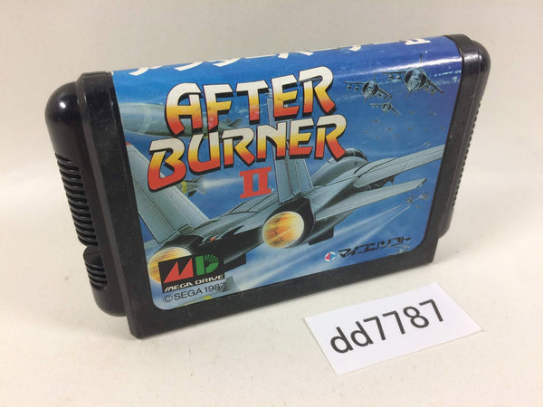 dd7787 After Burner II Mega Drive Genesis Japan