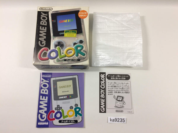 ka9235 GameBoy Color Console Box Only Console Japan