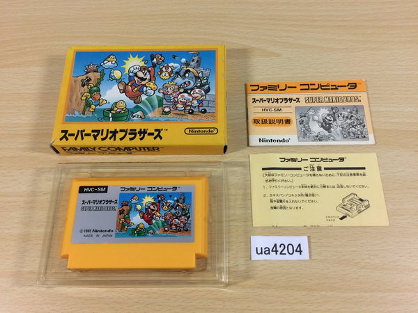 ua4204 Super Mario Bros. BOXED NES Famicom Japan