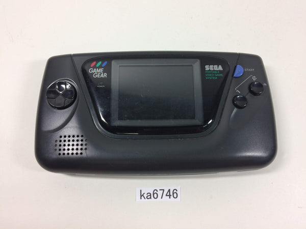 ka6746 Not Working Game Gear Black SEGA Console Japan