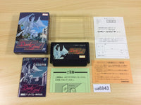 ua6843 Dark Lord BOXED NES Famicom Japan