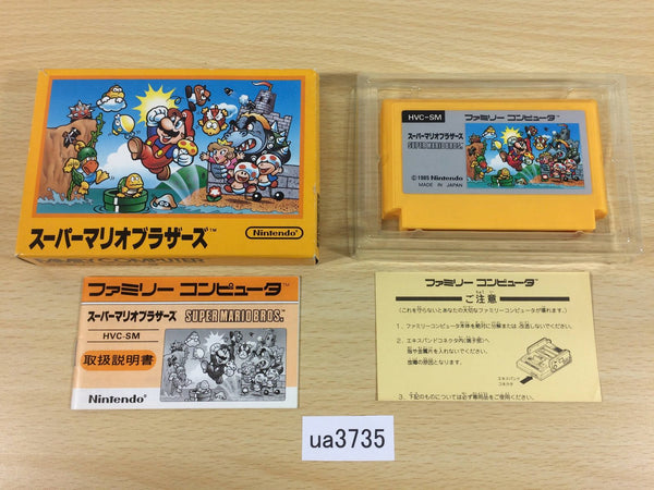 ua3735 Super Mario Bros. BOXED NES Famicom Japan