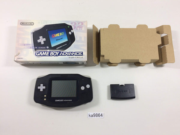 ka9864 GameBoy Advance Black BOXED Game Boy Console Japan